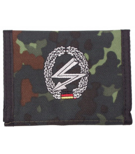 Portefeuille BW, BW camo, w/ins., logo B - Surplus militaire