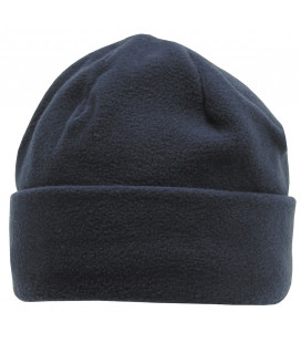 Bonnet polaire, bleu, doublure thinsulate