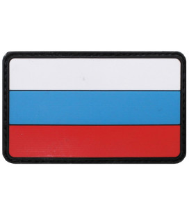 Insigne velcro, Russie, 3D, taille: 8 x 5 cm,