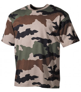 "Tee-shirt militaire US ""Classique"" camouflage CCE"