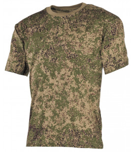"Tee-shirt militaire US ""Classique"" camouflage russe digital"
