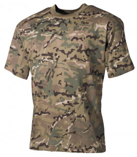 US Tee-shirt, style classique, operation camou, 170 g/m² - Surplus militaire