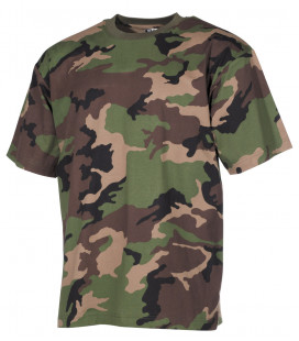 "Tee-shirt militaire US ""Classique"" camouflage M 97 SK"