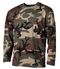 """Tee-shirt militaire US """"Classique"""" camouflage Woodland"""
