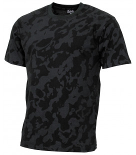 "US Tee-shirt, ""Streetstyle"", nuit camou, 140-145 g/m² - Surplus militaire"