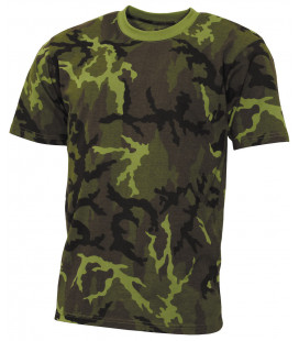 "US Tee-shirt, ""Streetstyle"", M 95 CZ camou, 140-145 g/m² - Surplus militaire"