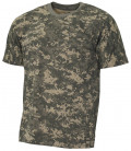 "Tee-shirt militaire US ""Streetstyle"" camouflage AT-digital"