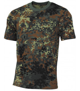 "US Tee-shirt, ""Streetstyle"", BW camou, 140-145 g/m² - Surplus militaire"