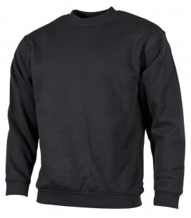 "Sweat-shirt, ""PC"", 340 g/m², noir - Surplus militaire"