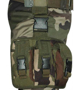 Porte-Chargeur Famas camouflage 3 Poches