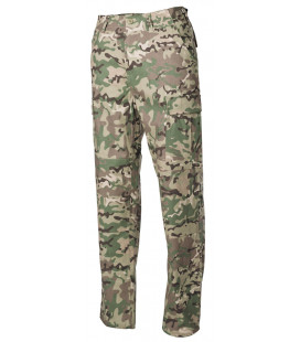 US Pantalon de combat BDU, Rip Stop, operation camou