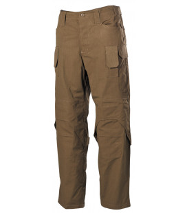 "Pantalon de combat, ""Mission"", Ny/Co, Rip Stop, coyote tan - Surplus militaire"
