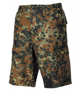Bermuda militaire US BDU camouflage BW homme