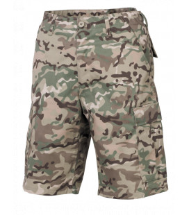 Bermuda militaire US BDU operation camouflage homme
