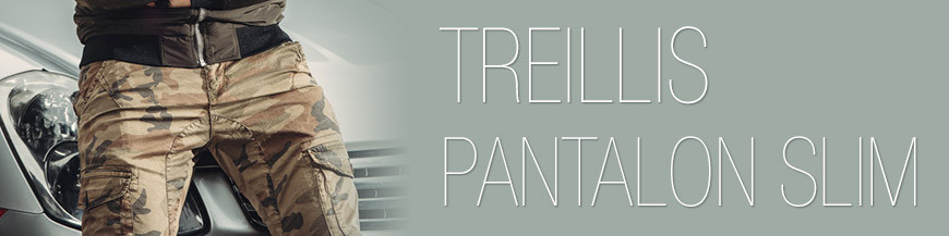 Pantalon Treillis Coupe slim